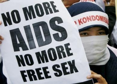 Aksi tolak HIV/AIDS