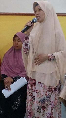 Sesi Diskusi Ibu Saidi : BPJS janji kosong pemerintah, katanya menjamin kesehatan, tapi malah merugikan.